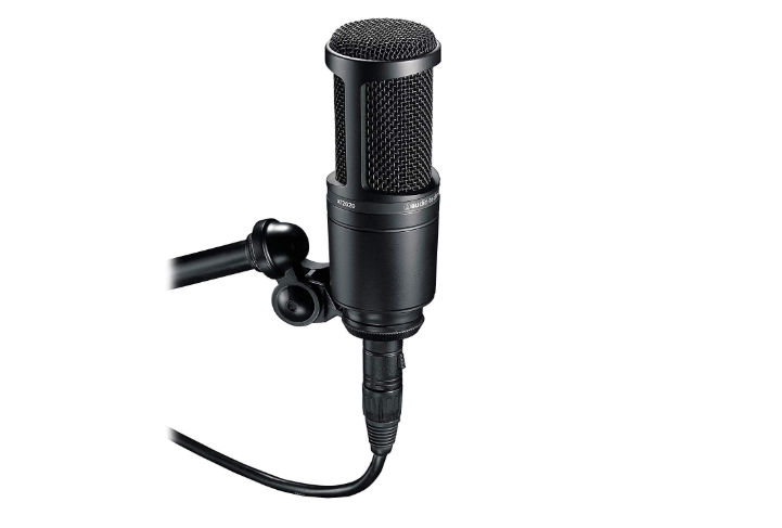audio technica youtube microphone