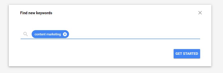 find keyword