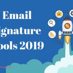 email signature tools