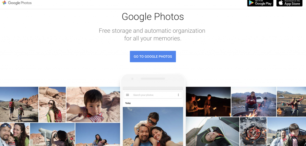 google photos cloud storage