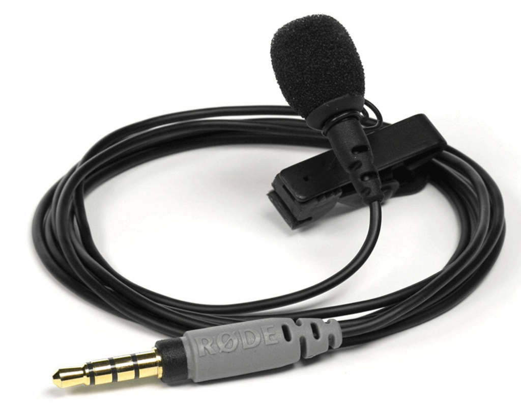 lavalier omnidirectional microphone