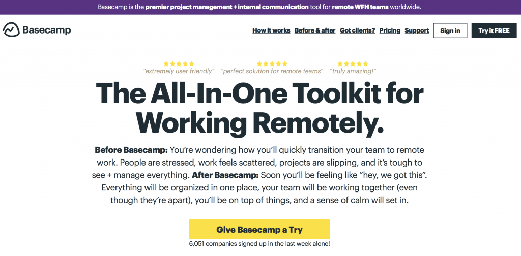 remote working tool