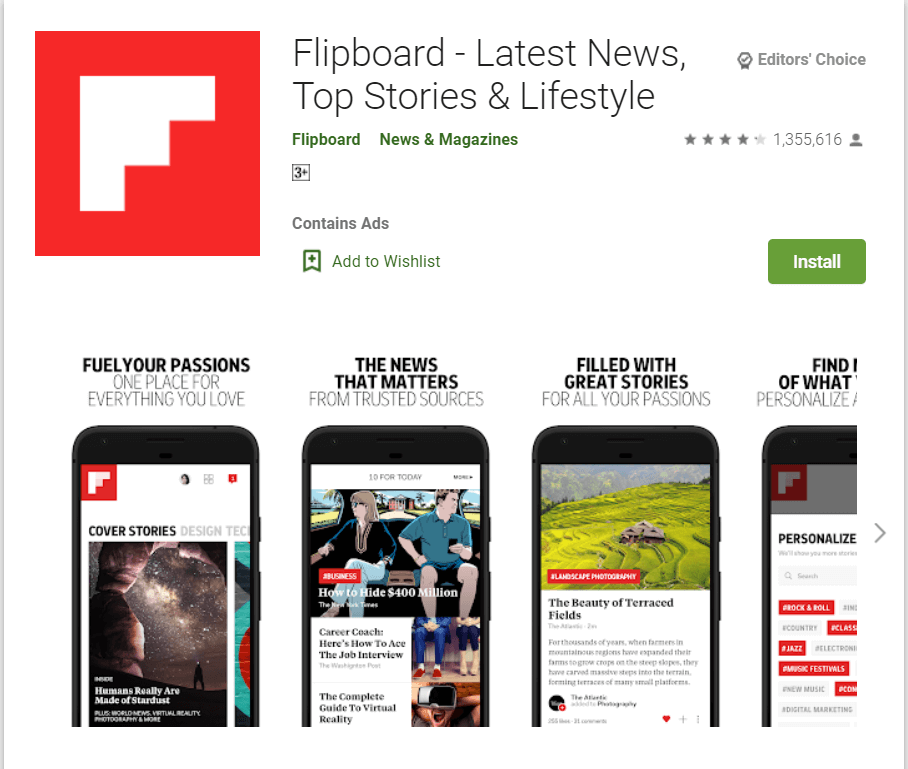 tech news app for android and ios