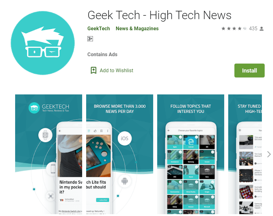 tech news app android