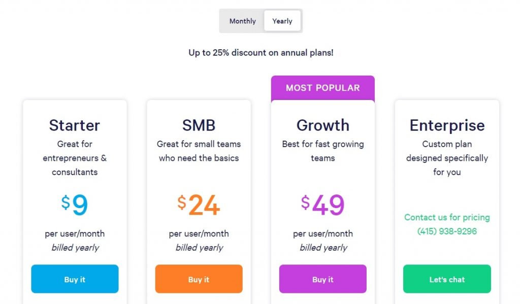 mixmax pricing plans