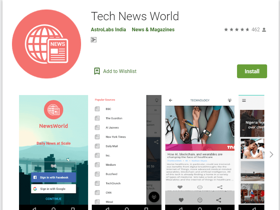 best tech news app