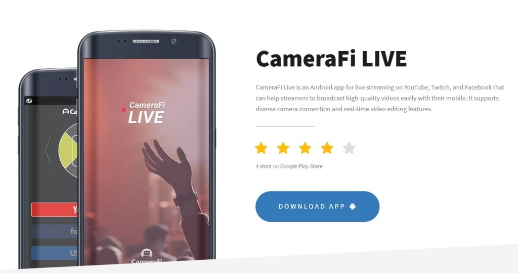 youtube live streaming android app