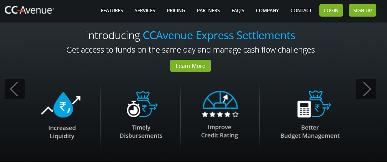 cc avenue payment solution