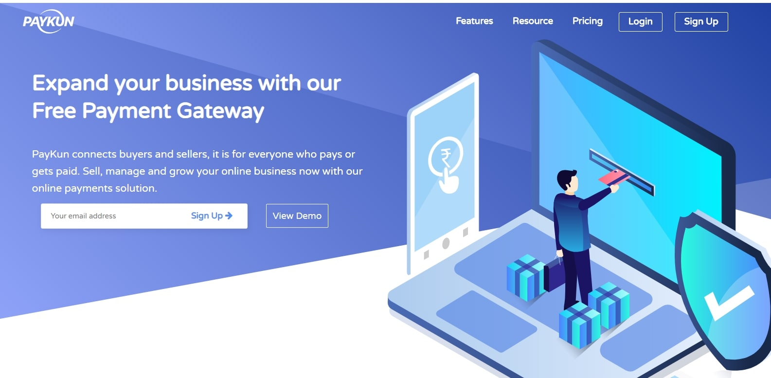 free payment gateway in india