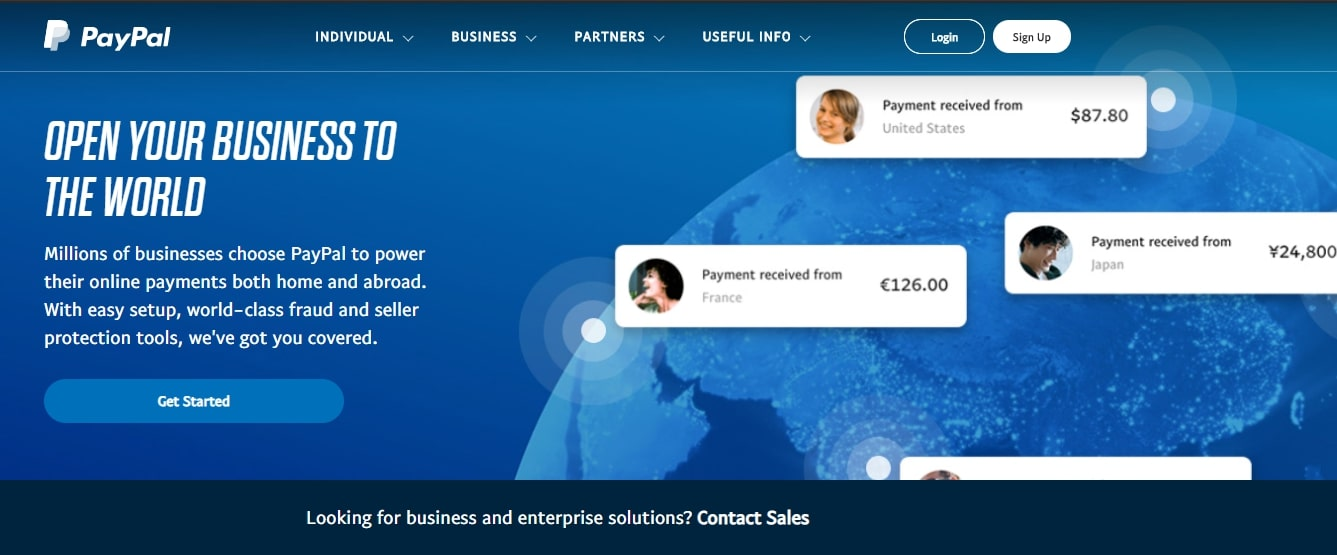 paypal payment gateway